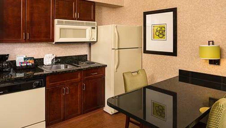 Tasteful kitchen in Homewood Suites Boston Billerica - Citybase Apartments
