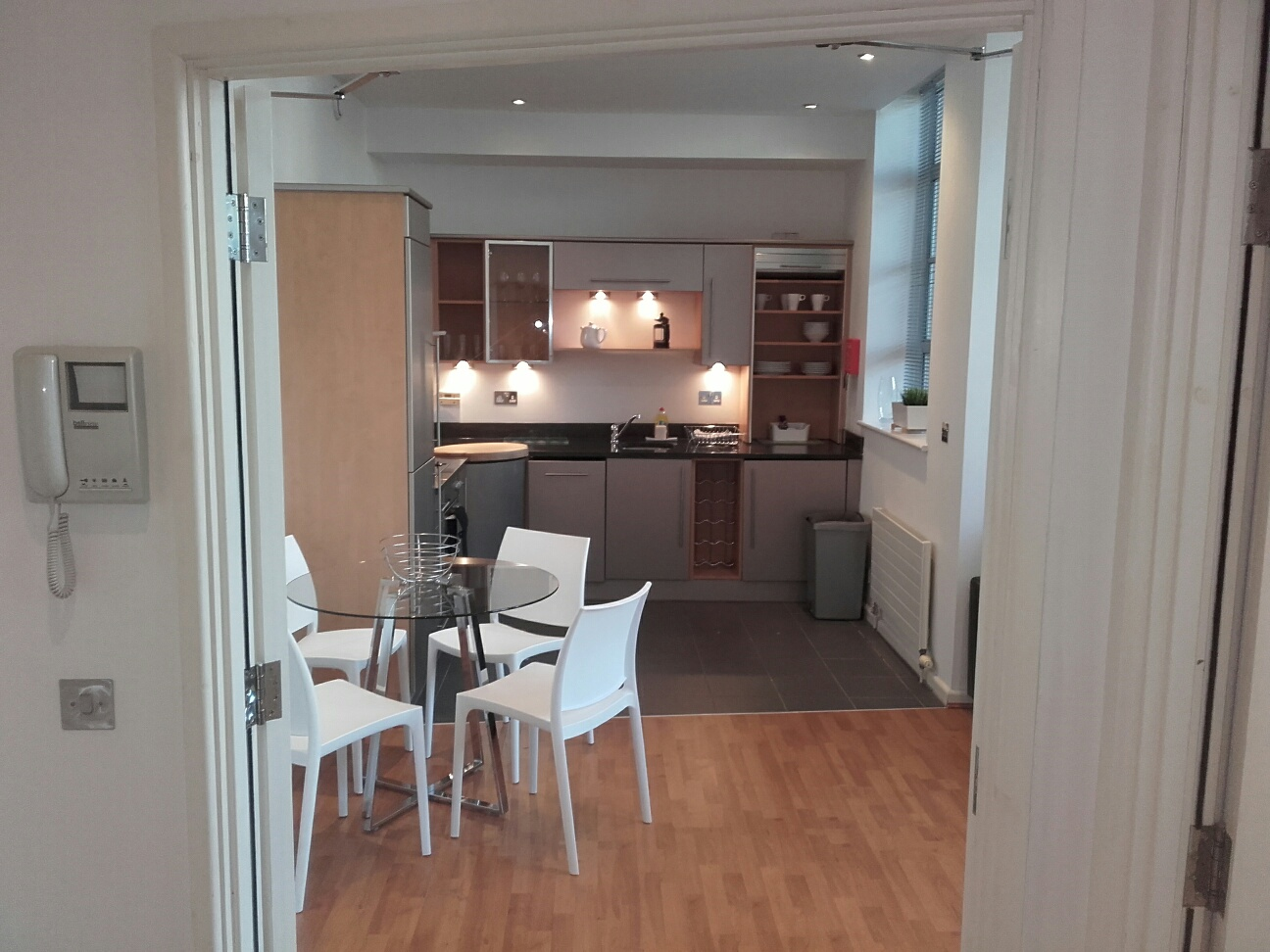 Kitchen at Princes House Apartments - Citybase Apartments