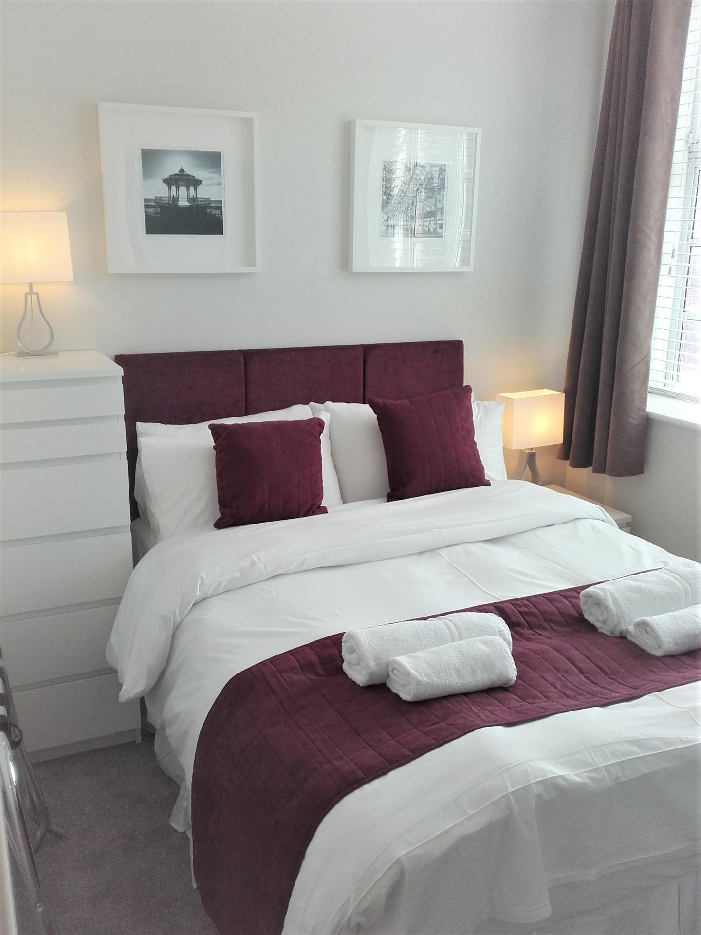 Bedroom at Princes House Apartments - Citybase Apartments