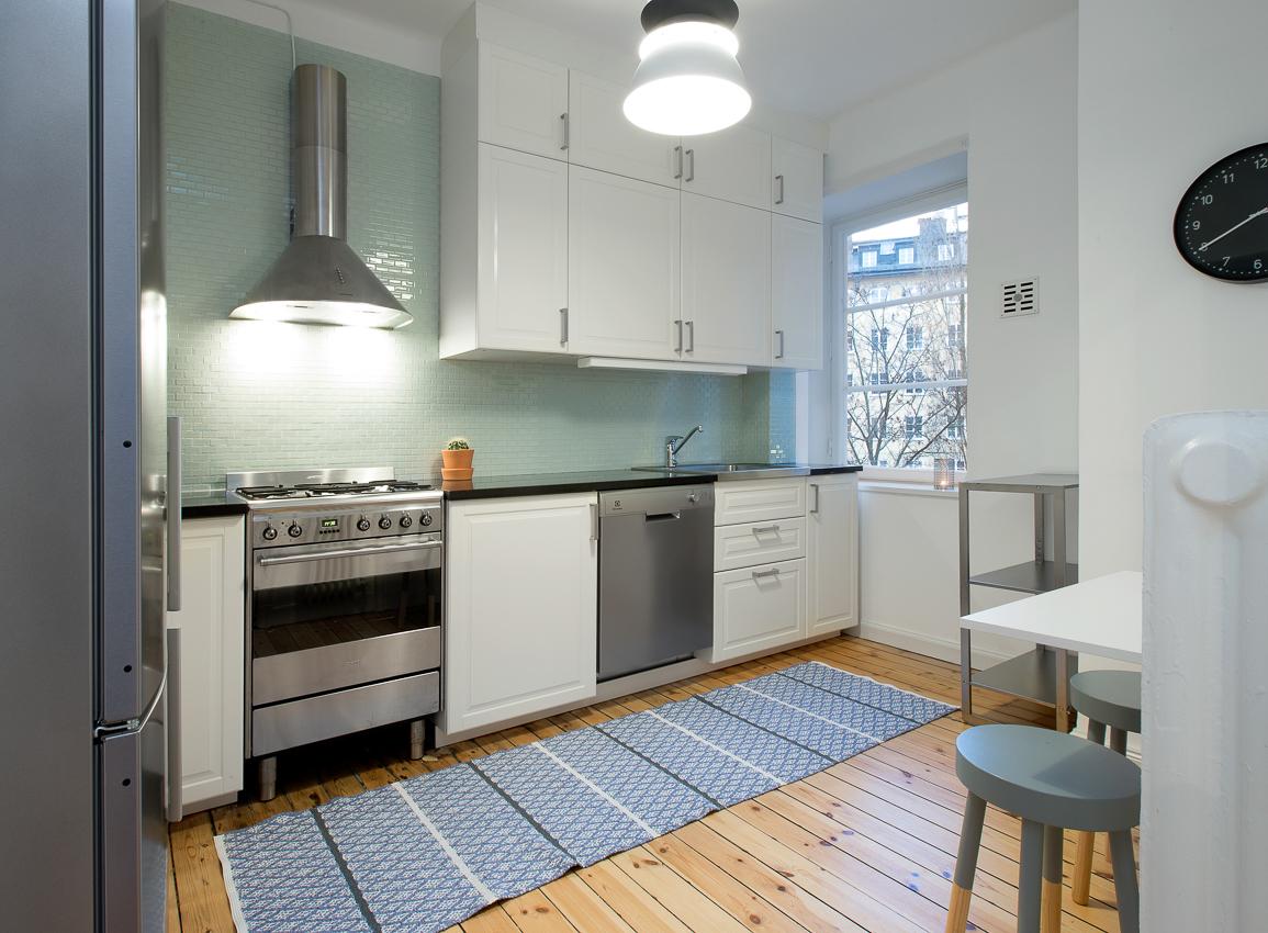 Kitchen at Rörstrandsgatan Apartments, Vasastan, Stockholm - Citybase Apartments