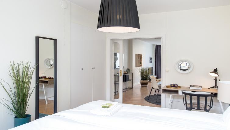 Bedroom at Grevgatan Apartments - Citybase Apartments