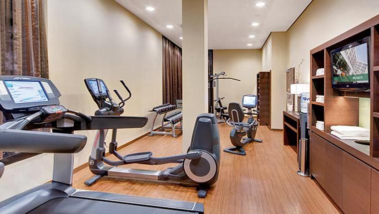 Gym in Residence Inn Munich City East - Citybase Apartments