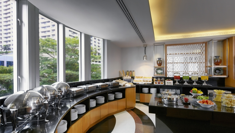 Modest restaurant in Marriot Executive Apartments Mayfair - Bangkok - Citybase Apartments