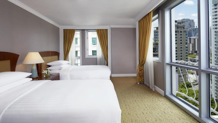 Bedroom at Marriot Executive Apartments Mayfair - Bangkok - Citybase Apartments