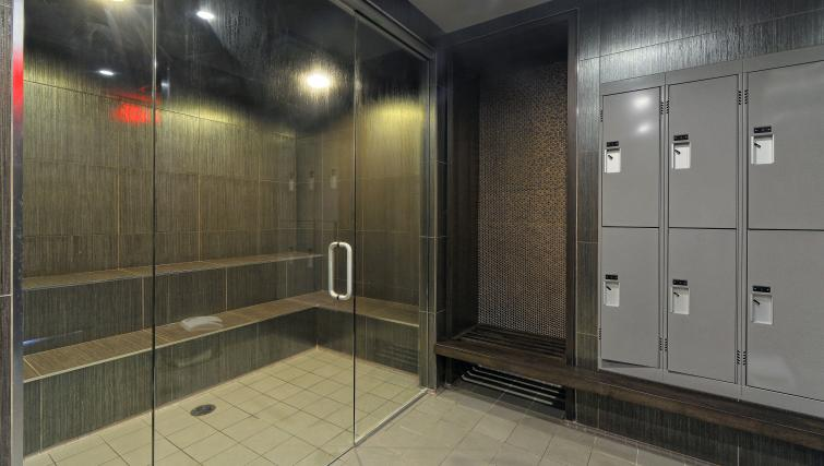 Saunas in 300 Front Street West Delsuites - Citybase Apartments