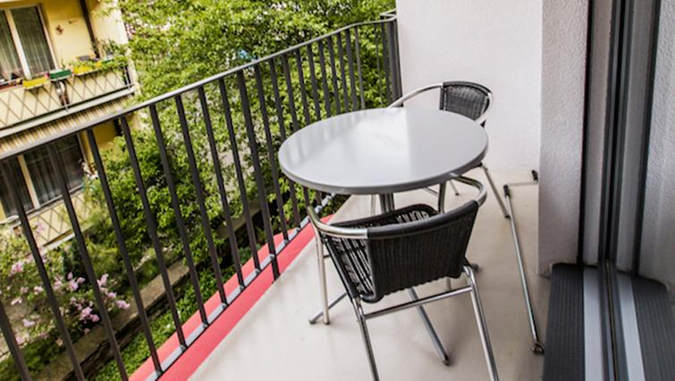 Balcony at Neptun Suites Apartment - Citybase Apartments