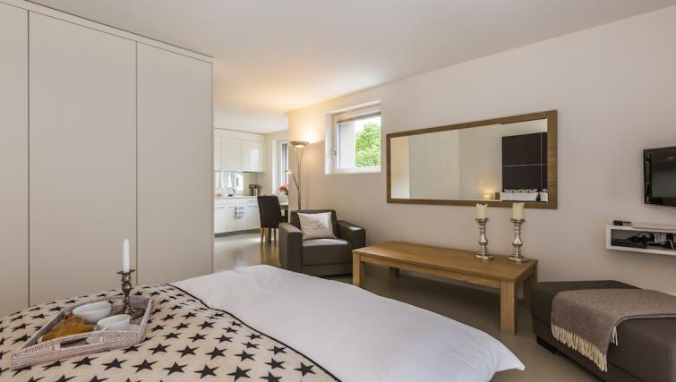 Bedroom at the Neptun Suites Apartment - Citybase Apartments