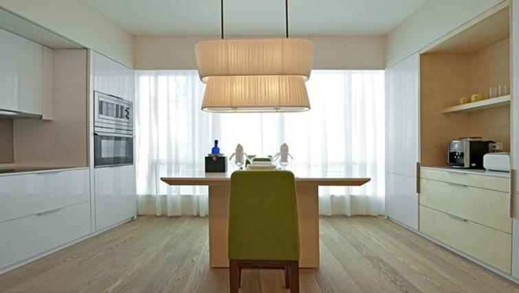 Gorgeous kitchen in Lanson Place Bukit Ceylon Serviced Residences - Citybase Apartments