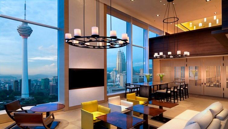 Sensational communal lounge in Lanson Place Bukit Ceylon Serviced Residences - Citybase Apartments