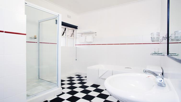 Bathroom at Best Western Cape Suites Hotel - Citybase Apartments