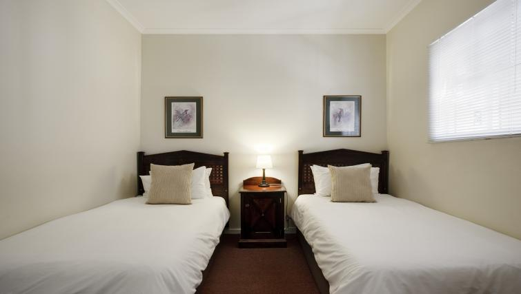 Twin bedroom at Best Western Cape Suites Hotel - Citybase Apartments
