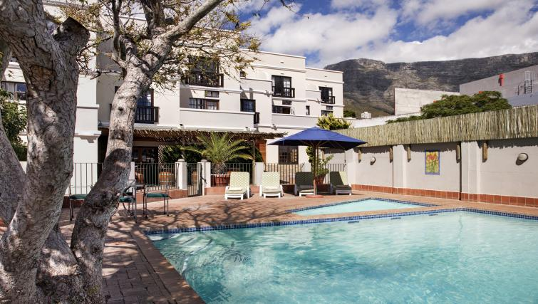 Pool at Best Western Cape Suites Hotel - Citybase Apartments
