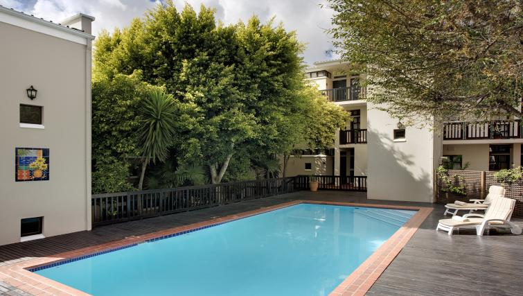 Swimming pool at Best Western Cape Suites Hotel - Citybase Apartments
