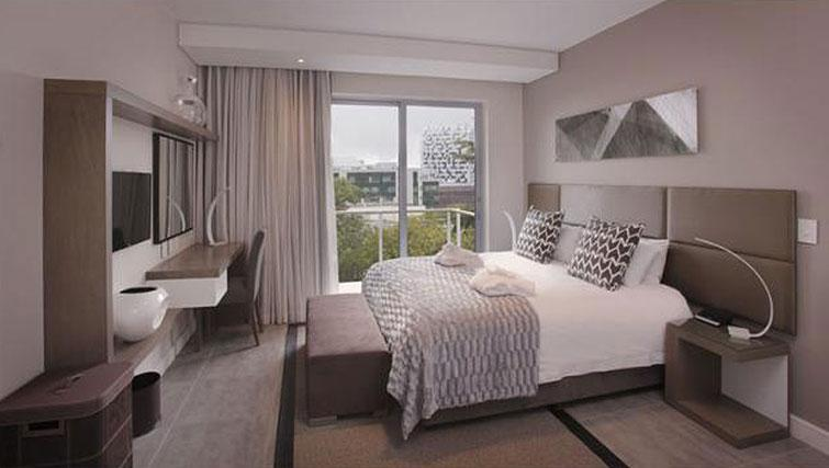 Bedroom at The Capital Empire - Citybase Apartments
