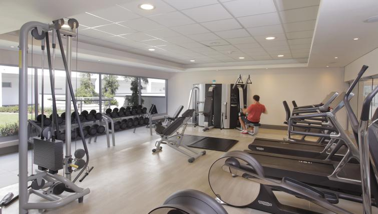 Gym at The Capital Empire - Citybase Apartments