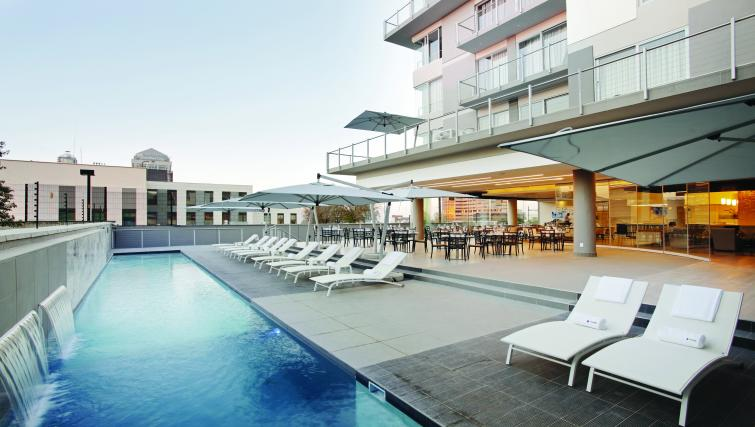 Pool at The Capital Empire - Citybase Apartments