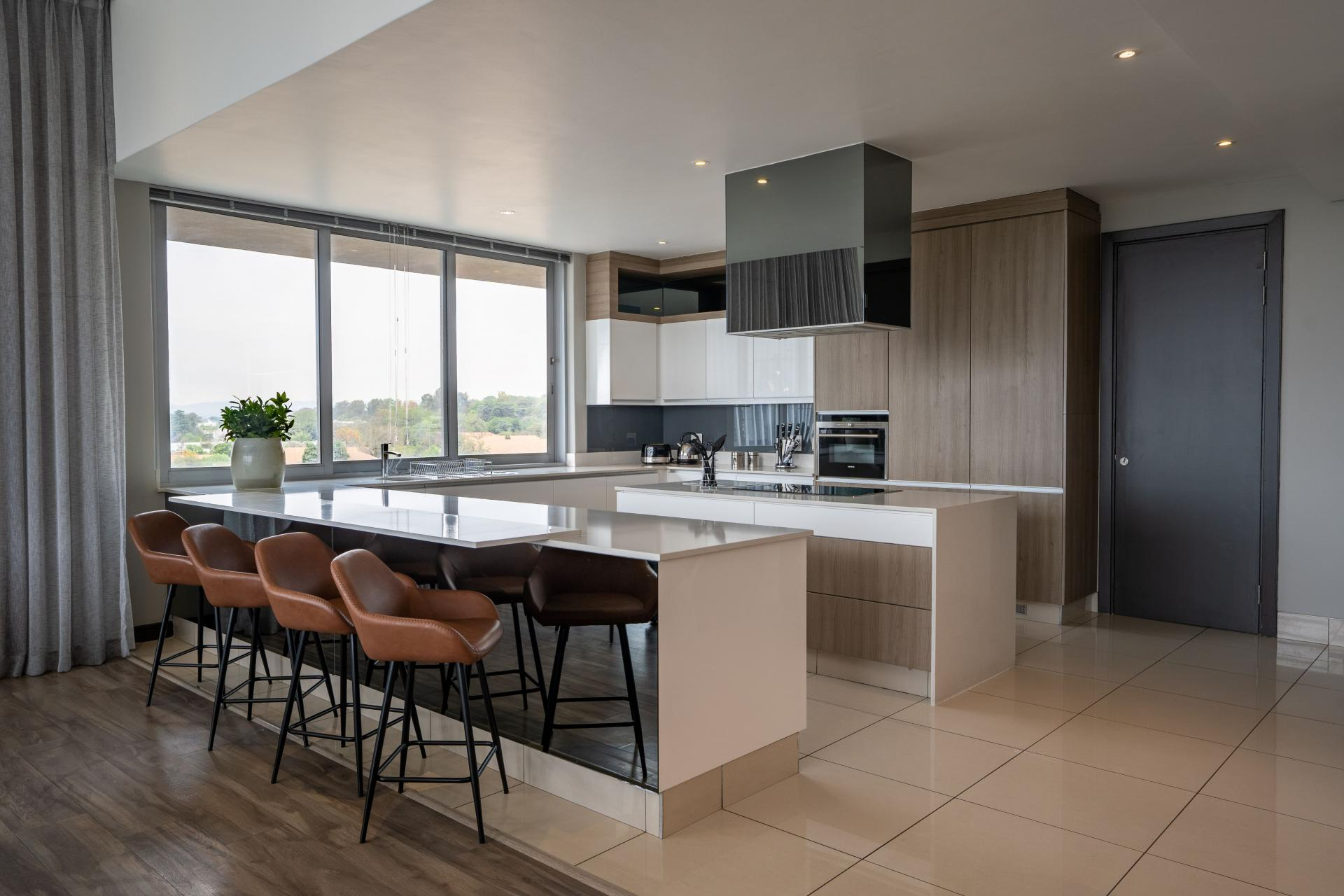 Penthouse kitchen at The Capital Empire, Sandton, Johannesburg - Citybase Apartments