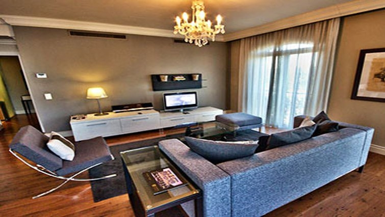 Modern living area in Cape Royale Luxury Hotel & Apartments - Citybase Apartments