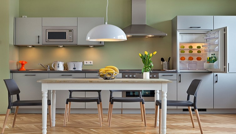 Stunning kitchen in The Circus Apartments - Citybase Apartments