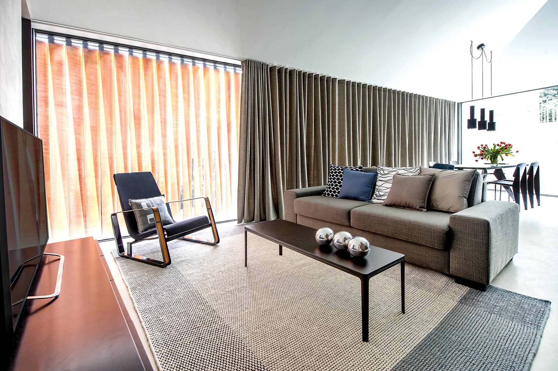 Sofa at The Hamlet, Bourg-de-Four, Geneva - Citybase Apartments