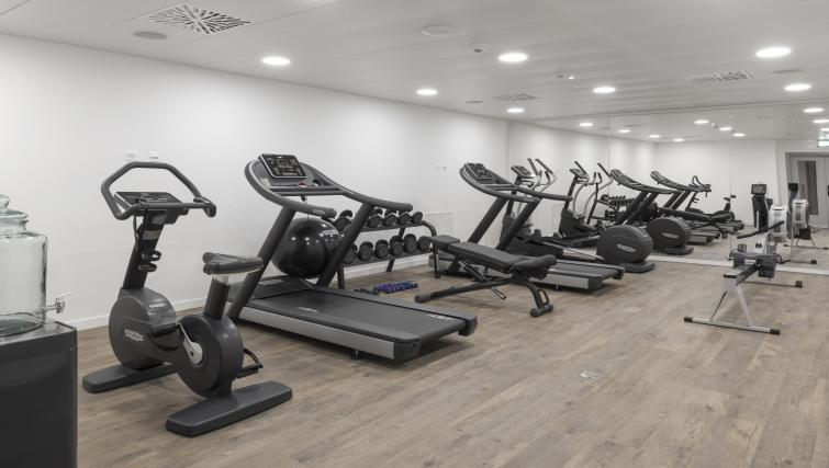 Gym at Base Nyon Apartments - Citybase Apartments