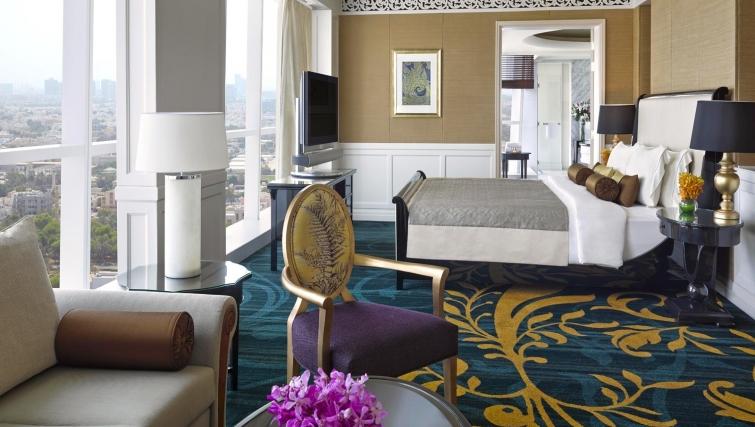 Expansive living area at Dusit Thani Abu Dhabi Apartments - Citybase Apartments