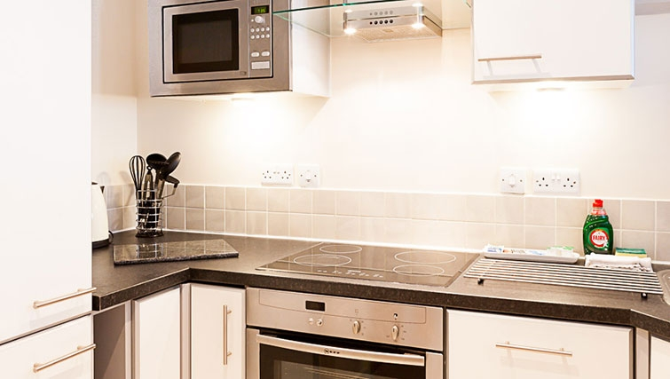 Kitchen at Swindon Paramount Apartments - Citybase Apartments