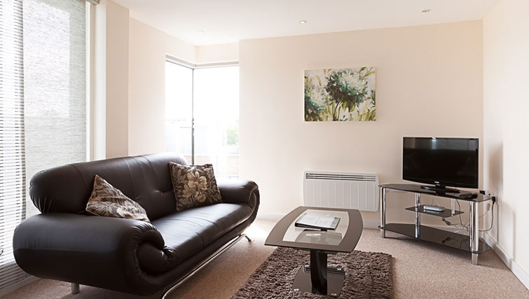 Living area in Swindon Paramount Apartments - Citybase Apartments