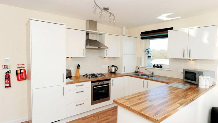 Kitchen at Hilton Campus Apartments - Citybase Apartments