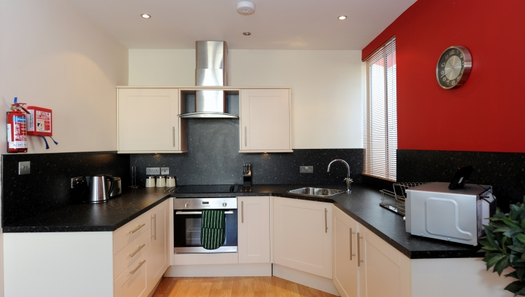 Kitchen at City Centre Apartments - Citybase Apartments