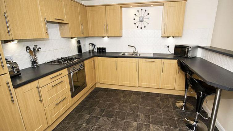 Kitchen at Beach Apartments - Citybase Apartments