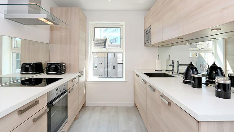 Simple kitchen at 54 Chapel Street Apartments - Citybase Apartments