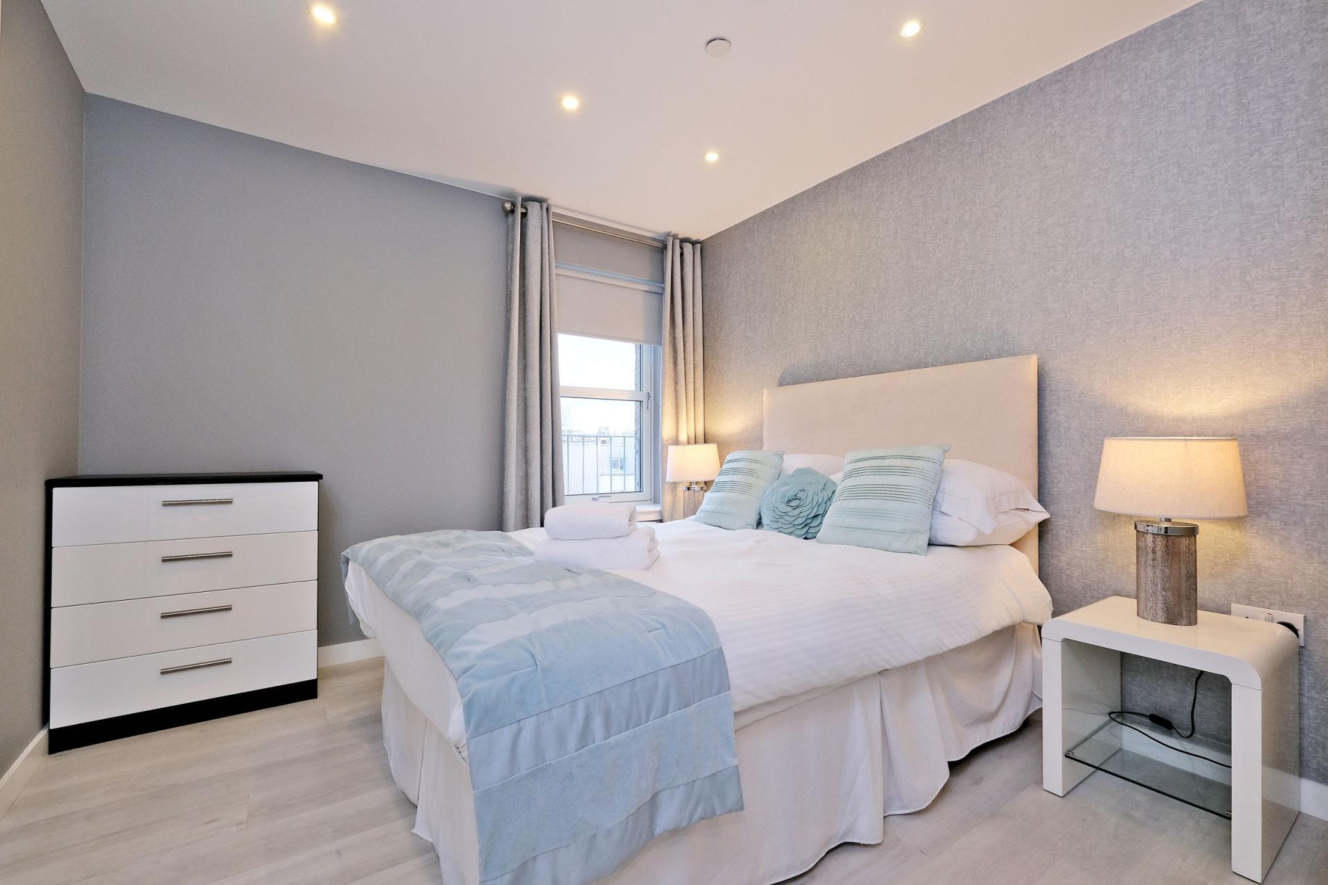 Bedroom at 54 Chapel Street Apartments, Centre, Aberdeen - Citybase Apartments