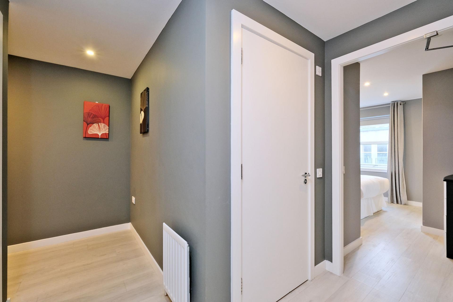 Hallway at 54 Chapel Street Apartments, Centre, Aberdeen - Citybase Apartments