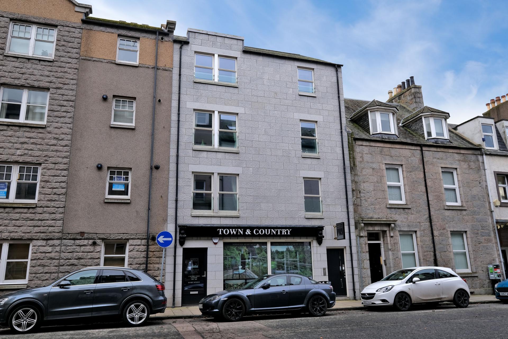 Exterior at 54 Chapel Street Apartments, Centre, Aberdeen - Citybase Apartments