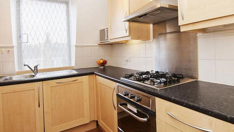 Kitchen at Maybury Court Apartment - Citybase Apartments