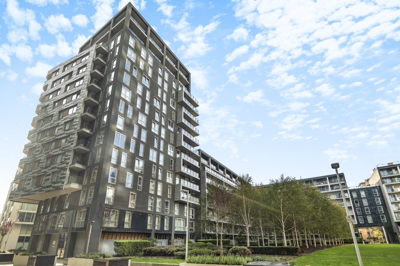 Exterior at Indescon Square Apartments, South Quay, London - Citybase Apartments