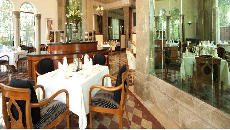 Kitchen at Grand Hyatt Doha Apartments - Citybase Apartments