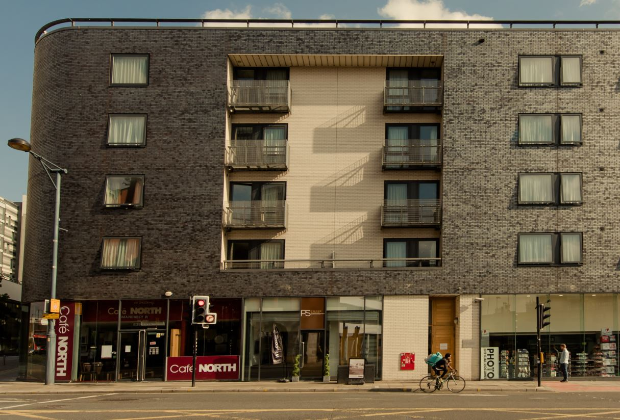 Exterior at Premier Suites Manchester - Citybase Apartments