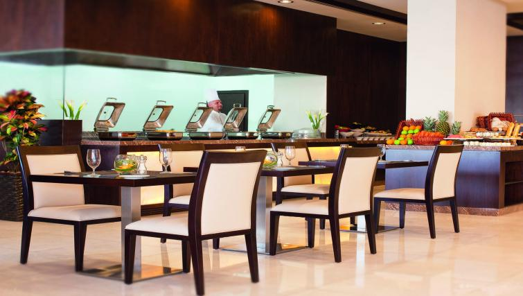 Restaurant at Moevenpick Al Mamzar Apartments - Citybase Apartments