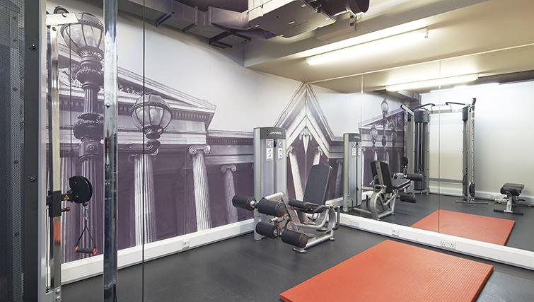 Practical gym at the Citadines Holborn & Covent Garden London - Citybase Apartments