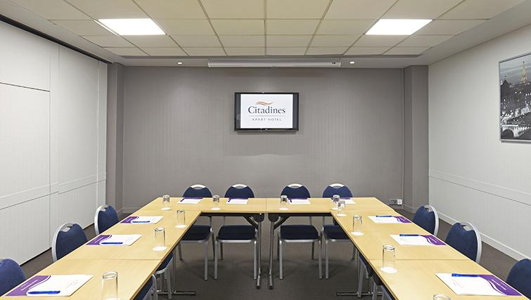 Meeting room at the Citadines Holborn & Covent Garden London - Citybase Apartments