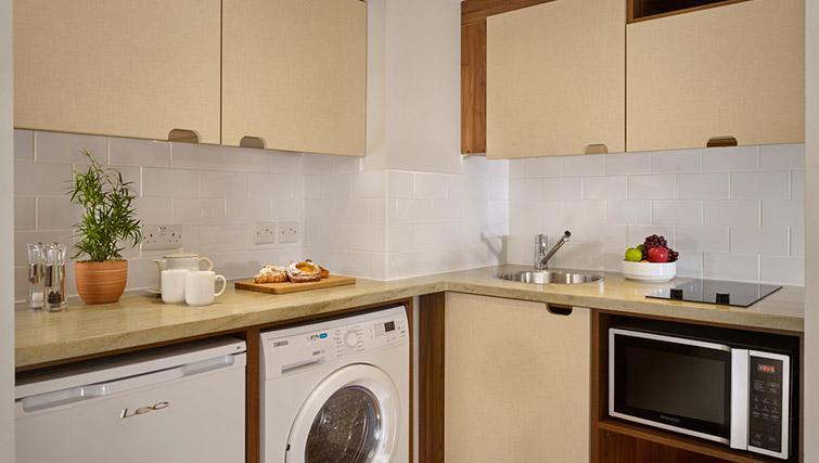 Kitchen at Citadines Barbican Apartments - Citybase Apartments