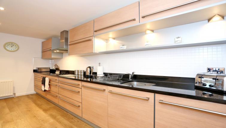 Kitchen at Dempsey Court Apartments - Citybase Apartments
