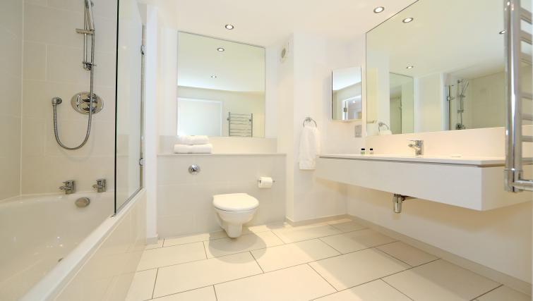 Bathroom at Dempsey Court Apartments - Citybase Apartments