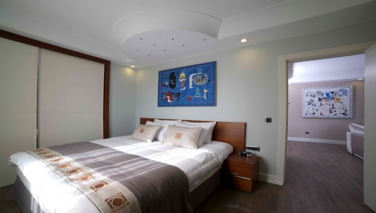Bedroom in Taba Luxury Suites Istanbul - Citybase Apartments