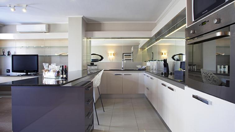 Kitchen at The Hyde Hotel Sea Point - Citybase Apartments
