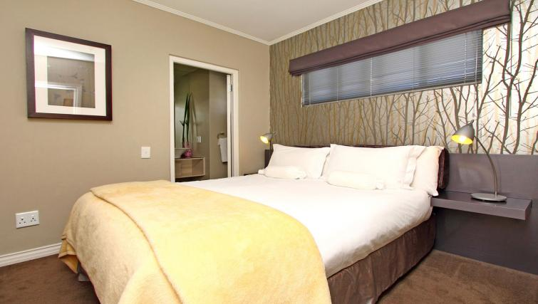 Double bed at The Hyde Hotel Sea Point - Citybase Apartments