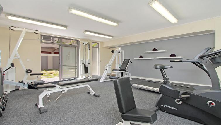 Gym at The Hyde Hotel Sea Point - Citybase Apartments