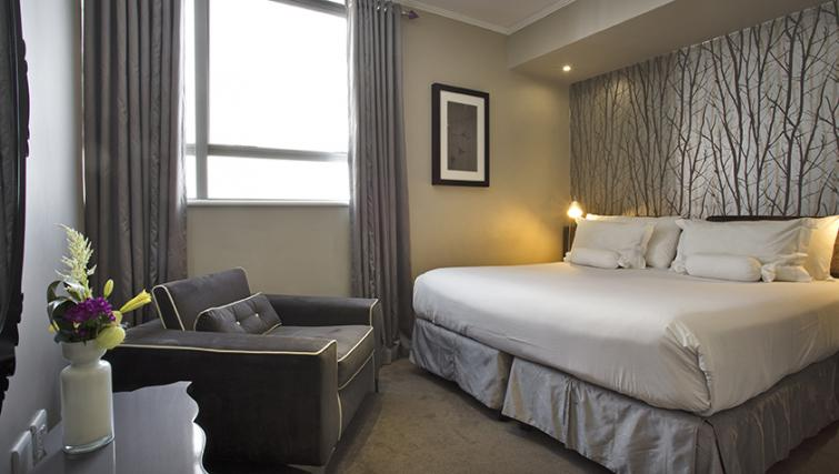 Bedroom at The Hyde Hotel Sea Point - Citybase Apartments